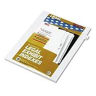 80000 Series Legal Exhibit Index Dividers, Side Tab,