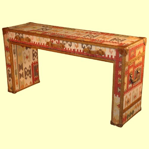 Cheap Leather Console Table In Kilim – D|LU196 (B002N6N88A)