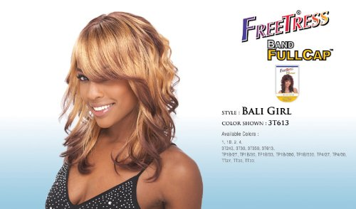 BALI GIRL - Shake N Go Freetress Band Fullcap Wig #1B/30