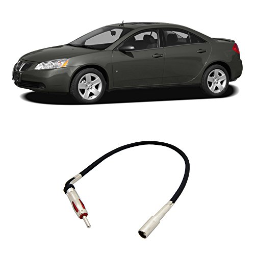 Pontiac G6 2005-2008 Factory Stereo to Aftermarket Radio Antenna Adapter Plug (G6 Pontiac Stereo compare prices)