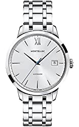 Montblanc Meisterstuck Heritage Automatic Silver Dial Stainless Steel Unisex Watch 111623