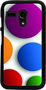 PrintVisa Pattern Abstract Circle Case Cover for Motorola Moto G X1032