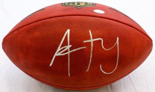Aaron Rodgers Autographed Football - Autographed Footballs