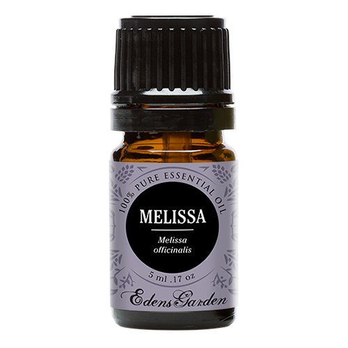 Melissa 100% Pure Therapeutic Grade Essential Oil by Edens Garden- 5 ml