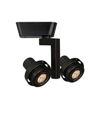 2 Light Double Adjustable Low Voltage Track Heads Track Type Lightolier Seri