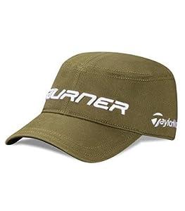 Taylor Made Burner Military Hat (Green, L/XL) Penta Flexfit Golf Cap NEW