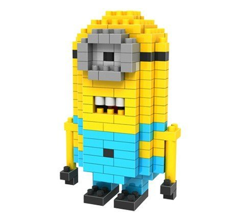 Despicable Me DIY Toys - Nanoblock Style Mini Assembly Blocks