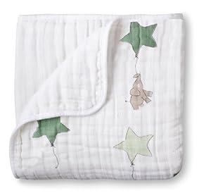 aden + anais Muslin Dream Blanket, Up, Up & Away