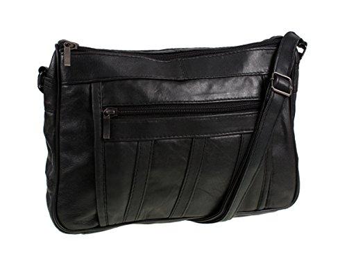 Womens Super Soft Nappa Leather Shoulder Bag