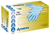 SafeTouch Nitrile Exam Gloves, Non Latex, Powder Free, Large, 100/Box