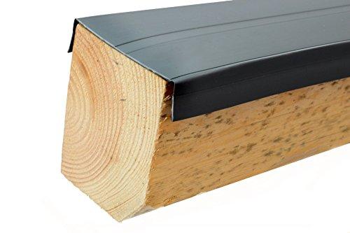 Premium pvc universelle holzschutzleiste 115 mm f r for Gartendeko holzbalken