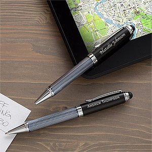 Personalized Stylus Pen - Black