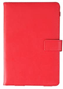 Klu by Curtis 7 Tablet RED DuroPLUS Executive Folio Case Cover by Cush+Cases