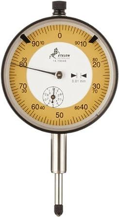TESA 01419048 Indicador Etalon precisión reloj comparador, M2.5 Hilo