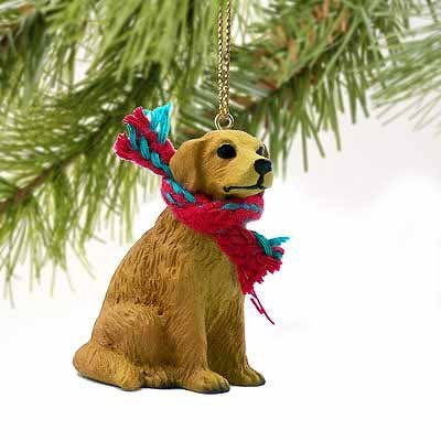 Golden Retriever Miniature Dog Ornament