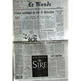 MONDE (LE) [No 14487] du 27/08/1991 - L'UNION SOVIETIQUE EN VOIE DE DISLOCATION - UN PAYS EN LAMBEAUX PAR JAN...