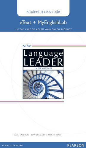 New Language Leader Intermediate Etext Access Card with MyEnglishLab Pack