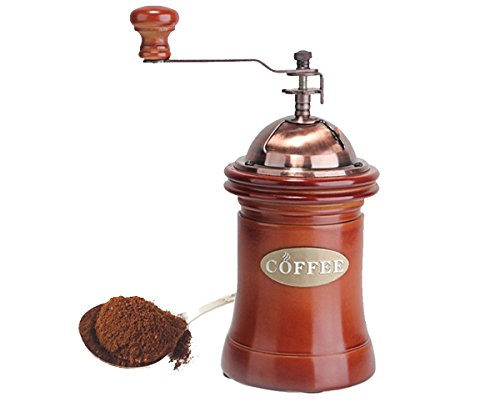 Coffee Maker With Coffee Grinder : Manual Coffee Grinder - Portable Coffee Mill - Adjustable -Coffee Maker With Grinder For ...