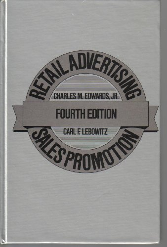 Retail Advertising and Sales Promotion