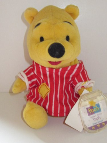 Winnie the Pooh Star Bean Bag Toy - Pajama Party Pooh
