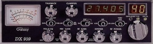 Galaxy DX-959  40 Channel AM/SSB Mobile CB Radio with Frequency Counter