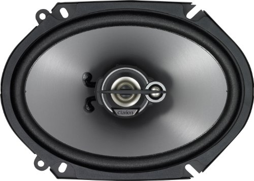 Clarion Srg6833C 6 X 8 Inches Custom Fit Multiaxial 3-Way Speaker System - Set Of 2