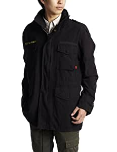 Black Military Vintage M-65 Field Jacket 8608 Size 2X-Large