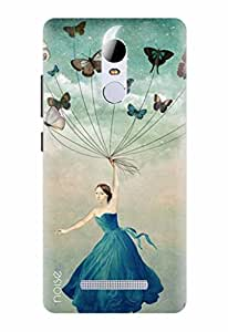 Noise Designer Phone Case / Cover for Xiaomi Redmi Note 3 / Butterflies Design / Patterns & Ethnic – Multicolor (GD-283)