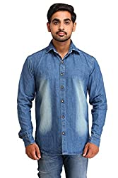 Snoby light blue wash Denim shirt SBY8087