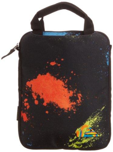 Quiksilver - Borsa per pc portatile, Uomo, Blu (Neon Blue),