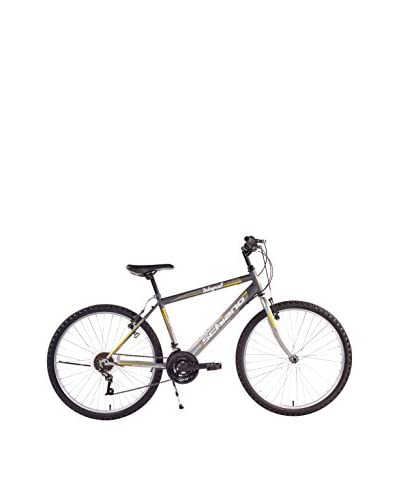 SCH Bicicleta Mtb Integral 24″ 18 V Eco Power Antracita / Gris