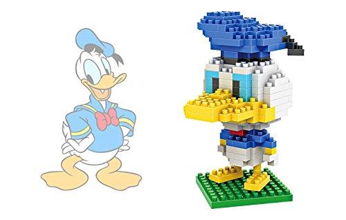 Trueland LOZ Minecraft Style Diamond Blocks Nanoblock Toy Set Disney series DonaldDuck