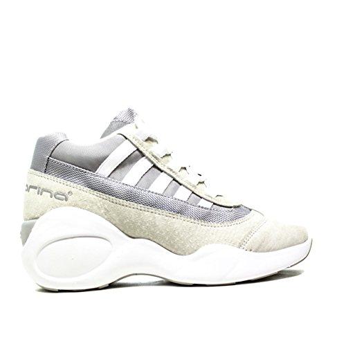 Fornarina PEFUP1183WVA Sneakers Donna Pelle Grey Grey 38