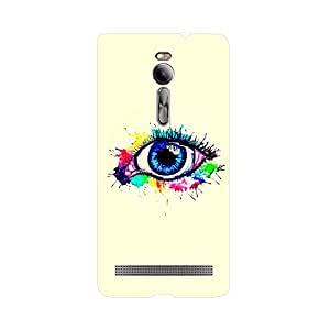 Phone Candy Designer Back Cover with direct 3D sublimation printing for Asus Zenfone 2 ZE551ML