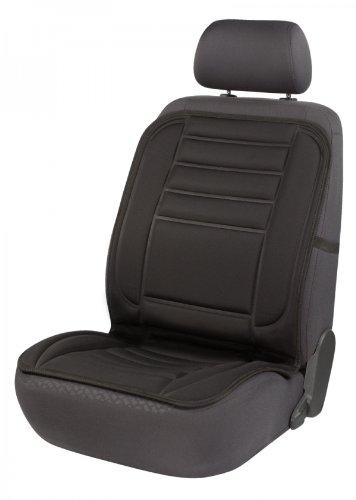 Sitzaufleger Comfort Heat schwarz mit 12 Volt