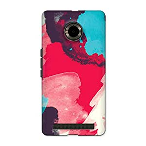 CrazyInk Premium 3D Back Cover for YU YUPHORIA - Hand Painted Watercolor