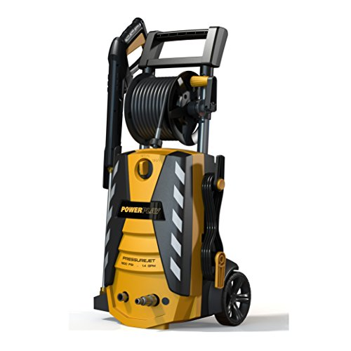 Powerplay Pjr1800 Pressurejet 1800 Psi Annovi Reverberi Axial Pump Electric Pressure Washer With 1.4-Gpm Flow Rate, 120-Volt