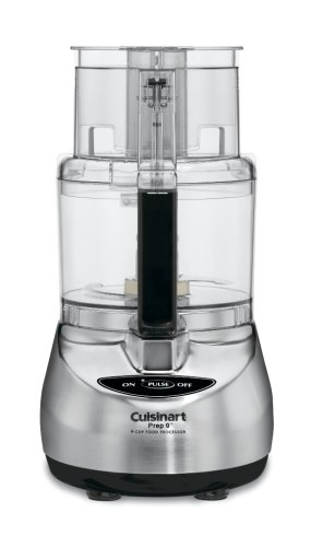 Cuisinart DLC-2009CHB Prep 9 9-Cup Food Processor, Brushed Stainless