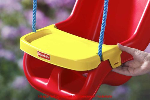 Fisher-Price Infant To Toddler Swing in Red , New, Free Shipping