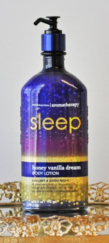 "Bath & Body Works ""Sleep"" Honey Vanilla Dream Body Lotion"