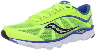 Saucony Men's Virrata Running Shoe,Citron/Blue,7 M US