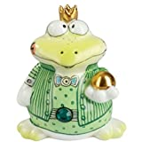 Adam & Ziege Porcelain Salt / Pepper Pot - Guenther the Frog