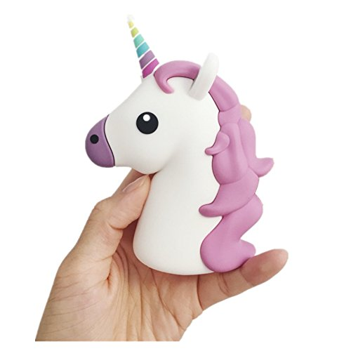 ZhiDa Emoji Stuff 2600mAh 5V/1.5A Portable Charger Adorable Unicorn Power Bank Emoji For IOS Android Phones (Jump Starter Mobile Power 2001 compare prices)