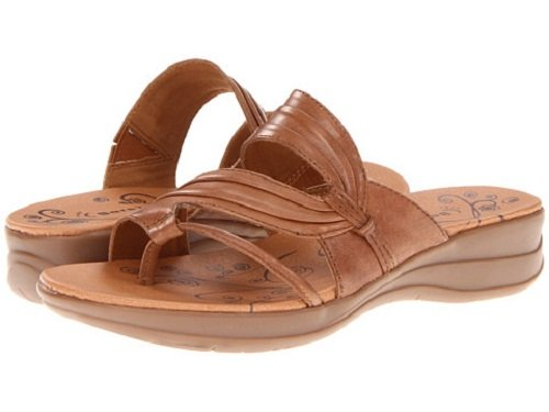 Bare Traps Women's Jump Out Sandal,Auburn Leather,8 B US at Amazon.com