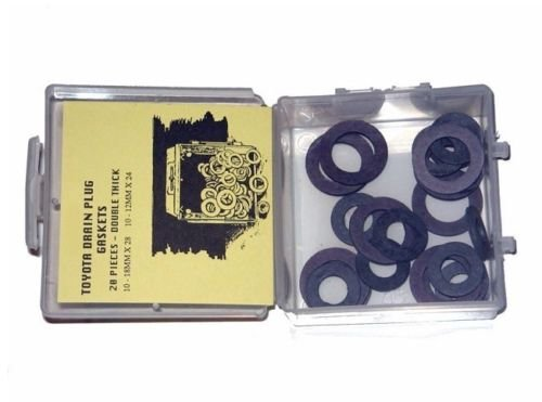 Toyota Double Thick Fiber Drain Plug Gasket 20