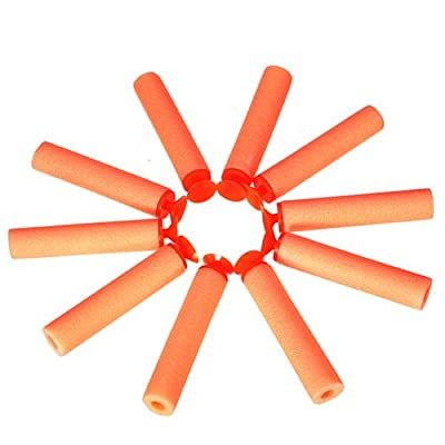 MECO(TM) 10 pcs Shooting Safety Soft EVA Bullets Darts Toy For Blaster Nerf Gun N-Strike by MECO that we recomend personally.