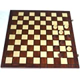 Draught Set. Deluxe. Wooden. 100 Squares. 40cmby Elysium Enterprises