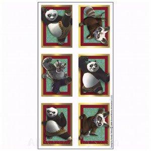 Kung Fu Panda Stickers 4 sheets