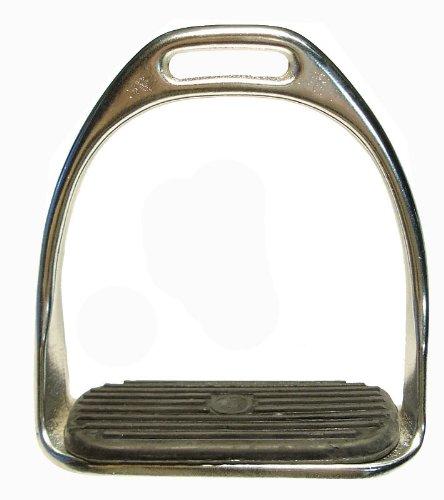 Steigbügel aus Stahl; 11 cm