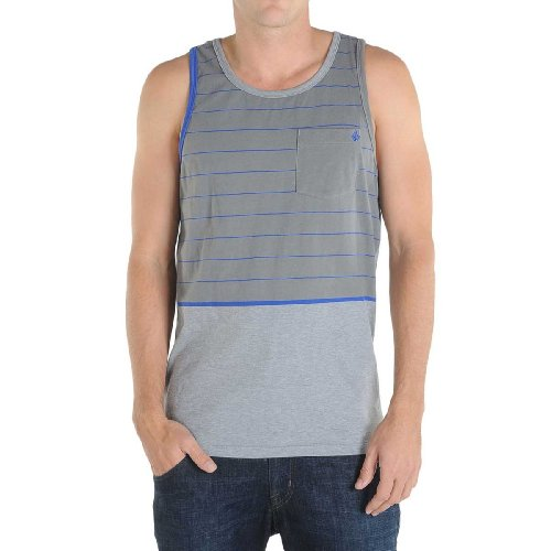 Volcom - Mens Primer Tank, Size: Small, Color: Grey